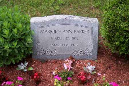 YOUNG BARKER, MARJORIE ANN - Franklin County, Ohio | MARJORIE ANN YOUNG BARKER - Ohio Gravestone Photos