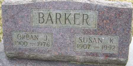 BARKER, SUSAN K - Franklin County, Ohio | SUSAN K BARKER - Ohio Gravestone Photos