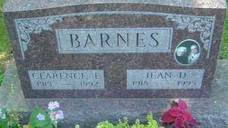 BARNES, JEAN - Franklin County, Ohio | JEAN BARNES - Ohio Gravestone Photos