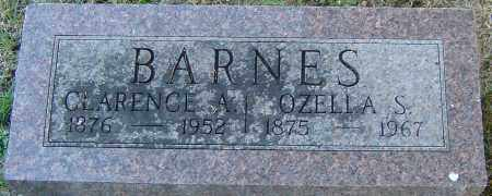 BARNES, OZELLA S - Franklin County, Ohio | OZELLA S BARNES - Ohio Gravestone Photos
