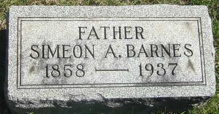 BARNES, SIMEON A - Franklin County, Ohio | SIMEON A BARNES - Ohio Gravestone Photos