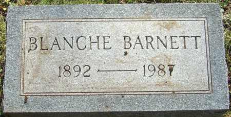 BARNETT, BLANCHE - Franklin County, Ohio | BLANCHE BARNETT - Ohio Gravestone Photos
