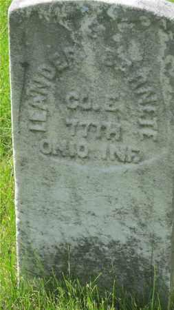 BARNETT, LEANDER - Franklin County, Ohio | LEANDER BARNETT - Ohio Gravestone Photos