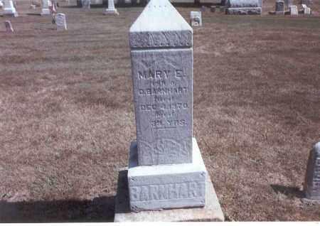 BARNHART, MARY E. - Franklin County, Ohio   MARY E. BARNHART - Ohio Gravestone Photos