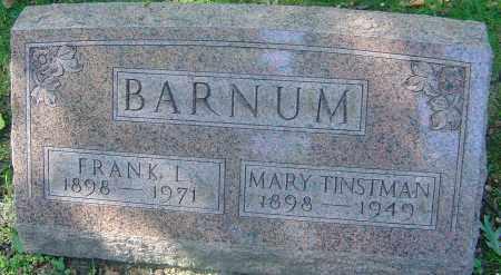 BARNUM, FRANK LON - Franklin County, Ohio   FRANK LON BARNUM - Ohio Gravestone Photos