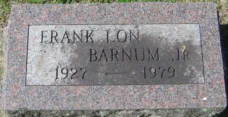 BARNUM JR, FRANK LON - Franklin County, Ohio | FRANK LON BARNUM JR - Ohio Gravestone Photos