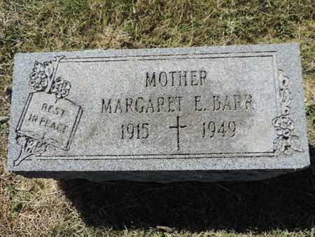 BARR, MARGARET - Franklin County, Ohio   MARGARET BARR - Ohio Gravestone Photos