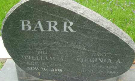 BARR, WILLIAM A - Franklin County, Ohio | WILLIAM A BARR - Ohio Gravestone Photos