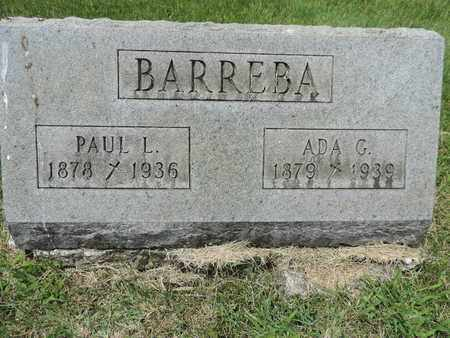 BARREBA, PAUL L. - Franklin County, Ohio | PAUL L. BARREBA - Ohio Gravestone Photos