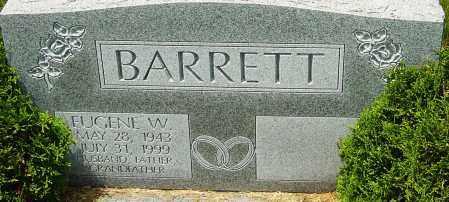 BARRETT, EUGENE W - Franklin County, Ohio   EUGENE W BARRETT - Ohio Gravestone Photos