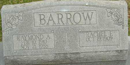 BARROW, RAYMOND A - Franklin County, Ohio | RAYMOND A BARROW - Ohio Gravestone Photos