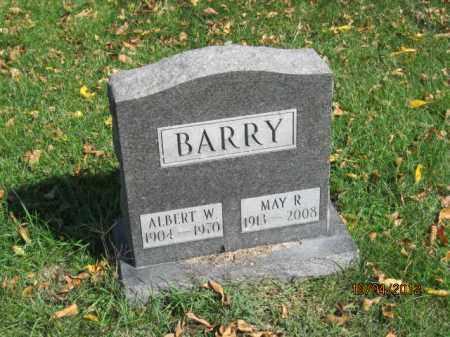 BARRY, ALBERT WILLIAM - Franklin County, Ohio   ALBERT WILLIAM BARRY - Ohio Gravestone Photos