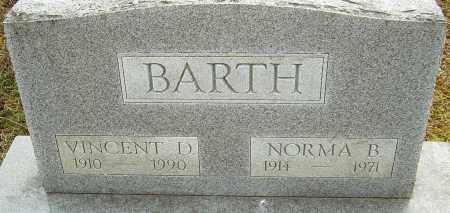BARTH, NORMA B - Franklin County, Ohio | NORMA B BARTH - Ohio Gravestone Photos