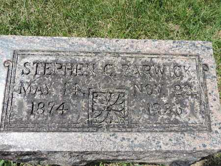 BARWICK, STEPHEN C. - Franklin County, Ohio | STEPHEN C. BARWICK - Ohio Gravestone Photos