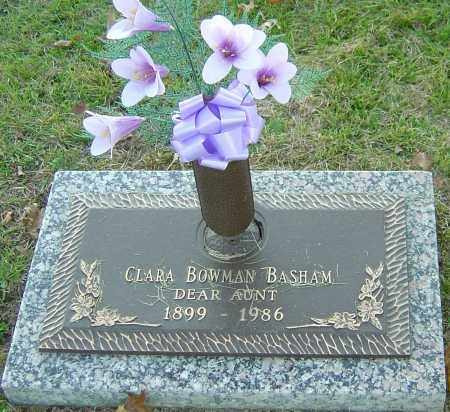 BASHAM, CLARA - Franklin County, Ohio | CLARA BASHAM - Ohio Gravestone Photos