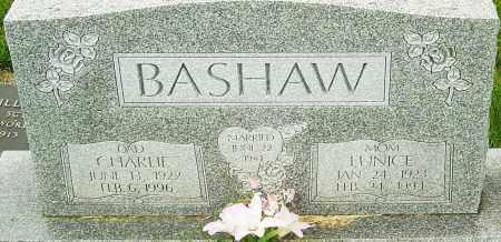 BASHAW, EUNICE - Franklin County, Ohio   EUNICE BASHAW - Ohio Gravestone Photos