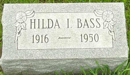 BASS, HILDA I - Franklin County, Ohio | HILDA I BASS - Ohio Gravestone Photos
