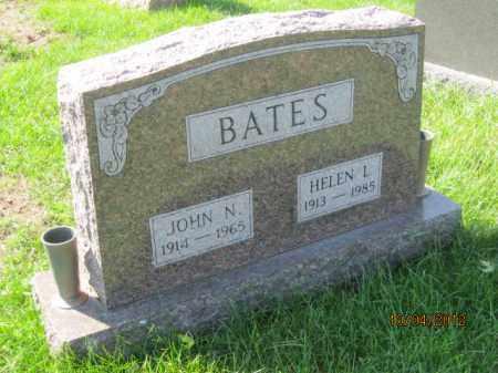 BATES, HELEN LORETTA - Franklin County, Ohio | HELEN LORETTA BATES - Ohio Gravestone Photos