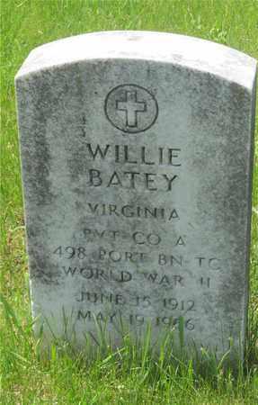 BATEY, WILLIE - Franklin County, Ohio | WILLIE BATEY - Ohio Gravestone Photos