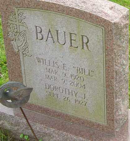 BAUER, WILLIS - Franklin County, Ohio | WILLIS BAUER - Ohio Gravestone Photos