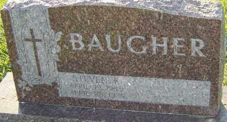 BAUGHER, STEVEN K - Franklin County, Ohio | STEVEN K BAUGHER - Ohio Gravestone Photos