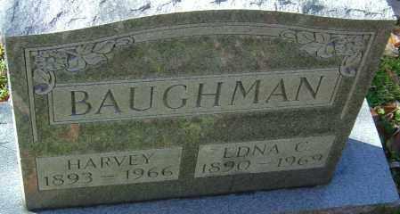 BAUGHMAN, HARVEY - Franklin County, Ohio | HARVEY BAUGHMAN - Ohio Gravestone Photos