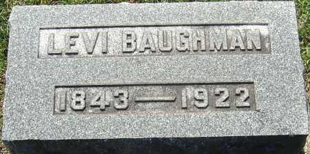 BAUGHMAN, LEVI - Franklin County, Ohio | LEVI BAUGHMAN - Ohio Gravestone Photos