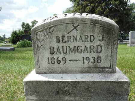BAUMGARD, BERNARD J. - Franklin County, Ohio | BERNARD J. BAUMGARD - Ohio Gravestone Photos