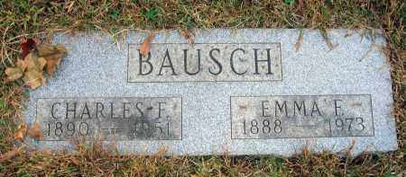 BAUSCH, CHARLES F. - Franklin County, Ohio | CHARLES F. BAUSCH - Ohio Gravestone Photos