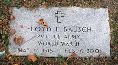 BAUSCH, FLOYD E. - Franklin County, Ohio | FLOYD E. BAUSCH - Ohio Gravestone Photos
