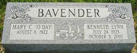 BAVENDER, KENNETH LYNN - Franklin County, Ohio   KENNETH LYNN BAVENDER - Ohio Gravestone Photos