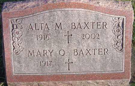 BAXTER, ALTA MILDRED - Franklin County, Ohio | ALTA MILDRED BAXTER - Ohio Gravestone Photos