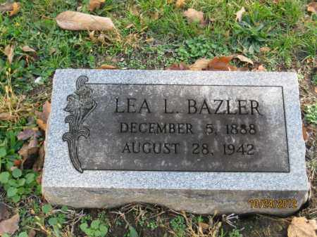 BAZLER, LEALETTA LEAH - Franklin County, Ohio | LEALETTA LEAH BAZLER - Ohio Gravestone Photos