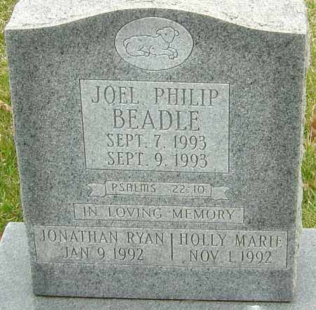 BEADLE, HOLLY MARIE - Franklin County, Ohio | HOLLY MARIE BEADLE - Ohio Gravestone Photos