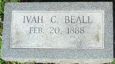 BEALL, IVAH C - Franklin County, Ohio | IVAH C BEALL - Ohio Gravestone Photos