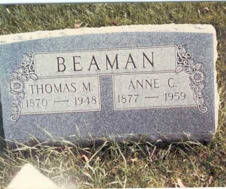 CARDER BEAMAN, ANNE C. - Franklin County, Ohio | ANNE C. CARDER BEAMAN - Ohio Gravestone Photos