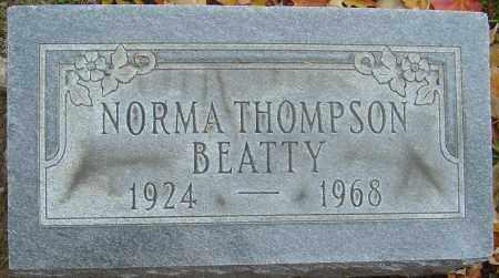 BEATTY, NORMA - Franklin County, Ohio   NORMA BEATTY - Ohio Gravestone Photos