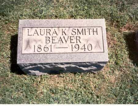 BEAVER, LAURA K. - Franklin County, Ohio   LAURA K. BEAVER - Ohio Gravestone Photos