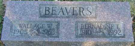 BEAVERS, BERNADINE T - Franklin County, Ohio | BERNADINE T BEAVERS - Ohio Gravestone Photos