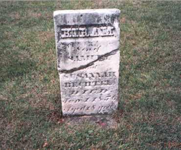 BECHTEL, HIRAM - Franklin County, Ohio | HIRAM BECHTEL - Ohio Gravestone Photos