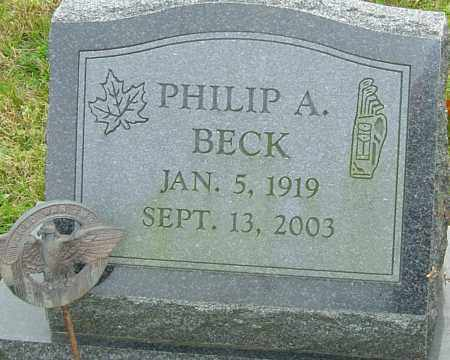 BECK, PHILIP - Franklin County, Ohio | PHILIP BECK - Ohio Gravestone Photos