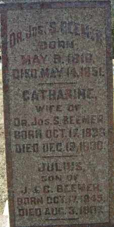 BEEMER, CATHARINE - Franklin County, Ohio | CATHARINE BEEMER - Ohio Gravestone Photos