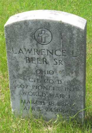 BEER, LAWRENCE L. - Franklin County, Ohio | LAWRENCE L. BEER - Ohio Gravestone Photos