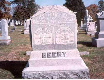 BEERY, HANNAH - Franklin County, Ohio | HANNAH BEERY - Ohio Gravestone Photos