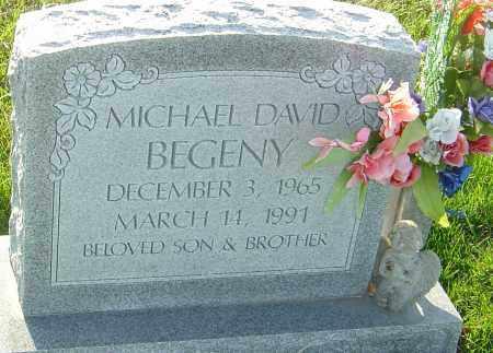 BEGENY, MICHAEL DAVID - Franklin County, Ohio | MICHAEL DAVID BEGENY - Ohio Gravestone Photos
