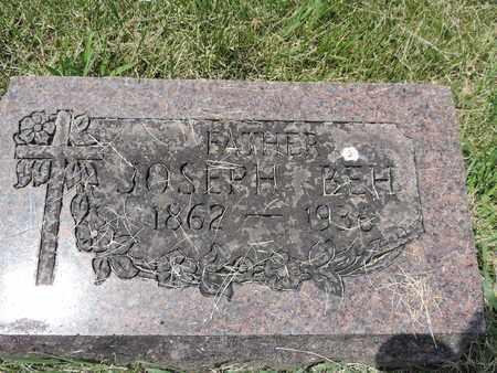 BEH, JOSEPH - Franklin County, Ohio | JOSEPH BEH - Ohio Gravestone Photos