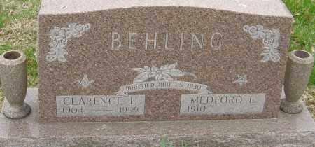BEHLING, MEDFORD - Franklin County, Ohio | MEDFORD BEHLING - Ohio Gravestone Photos