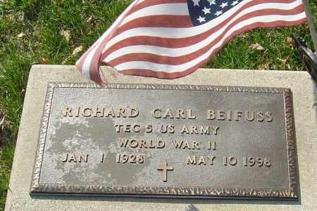 BEIFUSS, RICHARD CARL - Franklin County, Ohio | RICHARD CARL BEIFUSS - Ohio Gravestone Photos