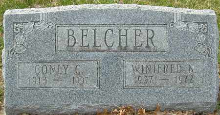 BELCHER, CONLY G - Franklin County, Ohio | CONLY G BELCHER - Ohio Gravestone Photos