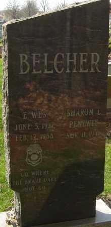 BELCHER, EARL WES - Franklin County, Ohio   EARL WES BELCHER - Ohio Gravestone Photos